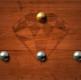 Сбить шарики с доски